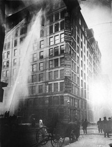 Incendio fabbrica Triangle