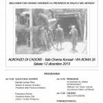 """238. XVI EDIZIONE DEL PREMIO INTERNAZIONALE """"BELLUNESI CHE HANNO ONORATO LA PROVINCIA DI BELLUNO IN ITALIA E NEL MONDO"""""""