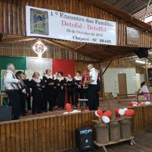 Secondo Raduno delle famiglie De Toffol, Detoffol, Detofol, Toffol, in Brasile