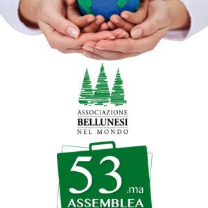 """155. Il 19 maggio nella sala """"Luciani"""" della Camera di Commercio di Belluno – Treviso la 53.ma Assemblea dell'Associazione Bellunesi nel Mondo"""