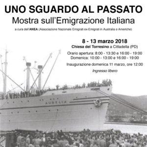 L'associazione Anea presenta una mostra sull'emigrazione italiana