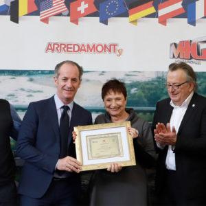 "88. ""Premio Ivano Pocchiesa 2018"". Premiata ad Agrimont Donata Panciera"