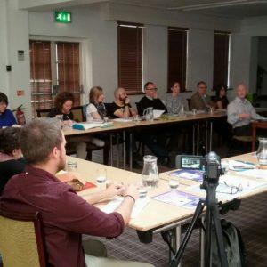 153. Cristian Lira, di Bellunoradici.net, ha partecipato all'incontro organizzato dall'Associazione Trentini nel Mondo a Oxford, UK