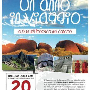 132. Venerdì 20 aprile si viaggia a Sud dell'equatore con Stefania Dell'Asen