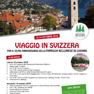 209. Viaggio in Svizzera per il 50.mo della Famiglia Bellunese di Lugano