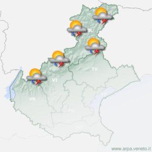 Meteo in provincia di Belluno