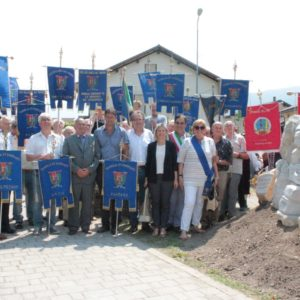 292. La Famiglia Ex emigranti di Fonzaso festeggia il primo anno dall'inaugurazione del monumento all'emigrante