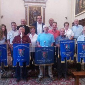 293. La Famiglia Ex emigranti di Arina festeggia il primo anno dell'intitolazione della Via Crucis a firma dell'artista lamonese Campigotto