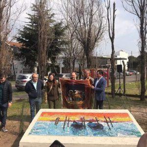 399. Inaugurato il mosaico dedicato al Veneto a San Isidro (Argentina)