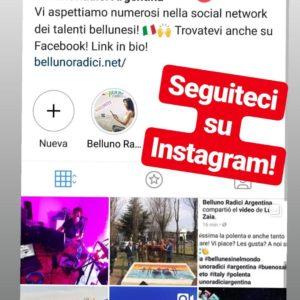 400. E' nato il profilo instagram Bellunoradici. A seguirlo il consigliere ABM Ernestina Dalla Corte Lucio