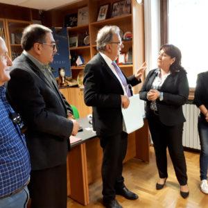 407. La Famiglia Bellunese di Erechim incontra il consigliere del Comune di Belluno De Biasi per avviare un patto di amicizia con il capoluogo provinciale