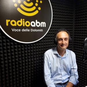 """409. Jacopo Massaro, sindaco del Comune di Belluno, protagonista della prossima puntata di """"Una voce delle Dolomiti"""", la rubrica di Radio ABM"""