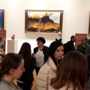 """420. Successo a Oradea, Romania, per la mostra """"Straordinaria bellezza. Le Dolomiti e i suoi emigranti"""""""