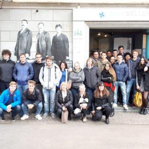 """500. L'Iis di Pieve di Cadore in visita al MiM Belluno. Apprezzato il laboratorio """"Italiani brava gente?"""""""