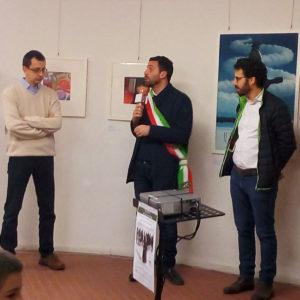 """473. Inaugurata a Pistoia la mostra Abm """"Prima guerra mondiale. Movimenti nelle retrovie"""". Il sindaco Tomasi: «Siamo vicini a Belluno in questo momento difficile»"""
