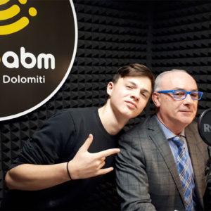 529. Ai microfoni di Radio ABM il sindaco del Comune di Ponte nelle Alpi, Paolo Vendramini