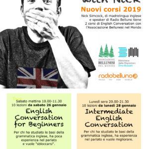 """15. """"English with Nick"""". La Biblioteca delle migrazioni """"Dino Buzzati"""" propone due corsi di inglese"""