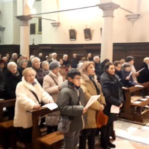 21. Partecipata la Santa Messa alla chiesa di Loreto in ricordo degli amici e consiglieri Abm deceduti nel 2018