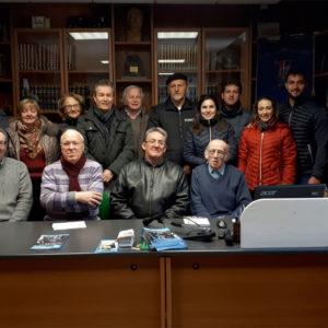 55. Gli amici di Urussanga in visita alla sede dell'Associazione Bellunesi nel Mondo