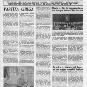 """59. L'annata 1969 della rivista """"Bellunesi nel mondo"""" è on line sito Centrostudialetheia.it"""