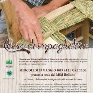 """146. L'ABM e il MiM Belluno organizzano un corso base di impagliatura con il """"caregheta"""" Enrico Stalliviere"""