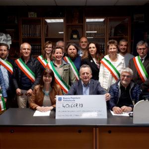 """129. La generosità degli emigranti bellunesi per le comunità della provincia di Belluno colpite da """"Vaia"""""""