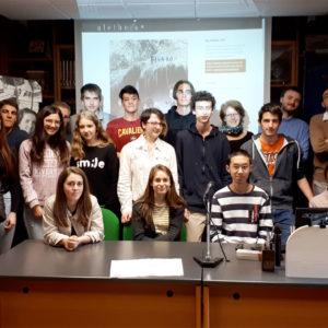 """148. Gli studenti del liceo scientifico """"Galilei"""" in visita in ABM per conoscere il funzionamento del Centro studi sulle migrazioni """"Aletheia"""""""