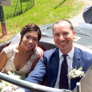 165. Incontro internazionale a Belluno grazie al matrimonio del bellunese Mauro Lazzarin con la filippina Jolina Glorioso