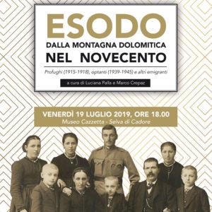 """209. Al Museo """"Cazzetta"""" si parla di esodo dalla montagna dolomitica nel Novecento"""