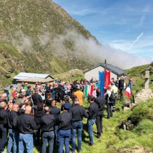 206. Sui Pirenei celebrato l'80° anniversario della tragedia di Izourt