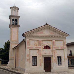 La dedicazione della chiesa di Formegan, Santa Giustina