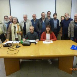 Foto di gruppo a conclusione dell'assemblea