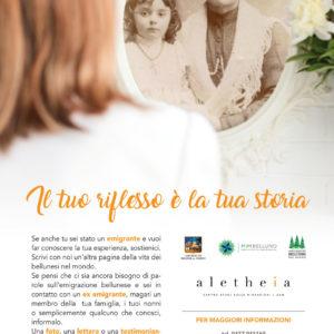 La promozione della raccolta fotografica Aletheia
