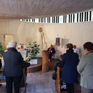 248. Alla chiesetta del Vajont, in occasione del 56° anniversario dell'immane tragedia, l'Abm ha ricordato la figura di Vincenzo Barcelloni Corte