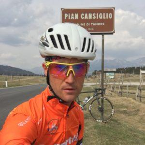 Bellunesi nel mondo… dello sport. Mirko Balzan pedala oltre i limiti