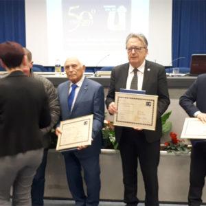 Da sinistra Sandro Pol, Aduo Vio, Oscar De Bona e Riccardo Simonetti.