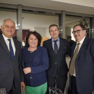 296. Geltrudes Reolon, presidente della Famiglia Bellunese di Erechim, nominata agente consolare onoraria d'Italia in Brasile