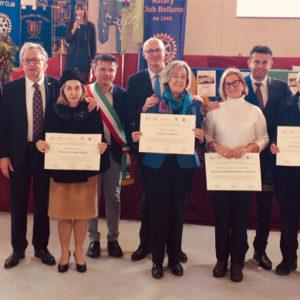 Premiati Bellunesi nel mondo a Chies d'Alpago