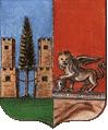 stemma del comune di Lorenzago di Cadore
