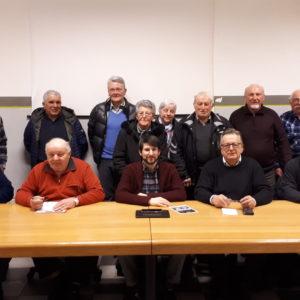 oto di gruppo a conclusione della riunione a Seren del Grappa
