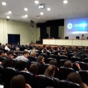 """13. Gli studenti dell'Istituto tecnico """"Barsanti"""" di Castelfranco Veneto pronti a visitare il MiM Belluno"""