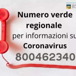 Emergenza Coronavirus. La Regione Veneto attiva un numero verde