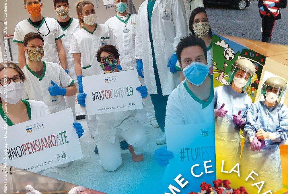 """37. Il coronavirus non ha fermato """"Bellunesi nel mondo"""". In arrivo il numero di aprile, con la benedizione di Papa Francesco a tutti i bellunesi"""