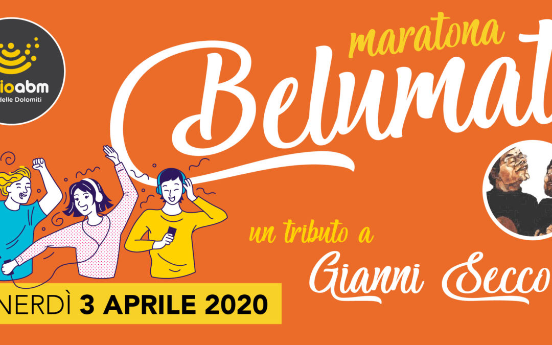 "36. Radio ABM ricorda Gianni Secco con ""Maratona Belumat"""