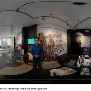 Il Museo interattivo delle Migrazioni chiude fisicamente, ma apre virtualmente
