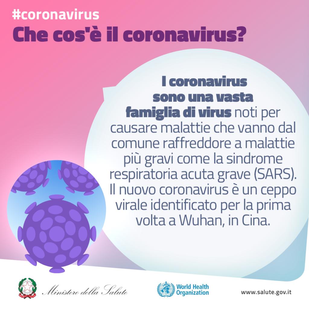 che cos'è il coronavirus?