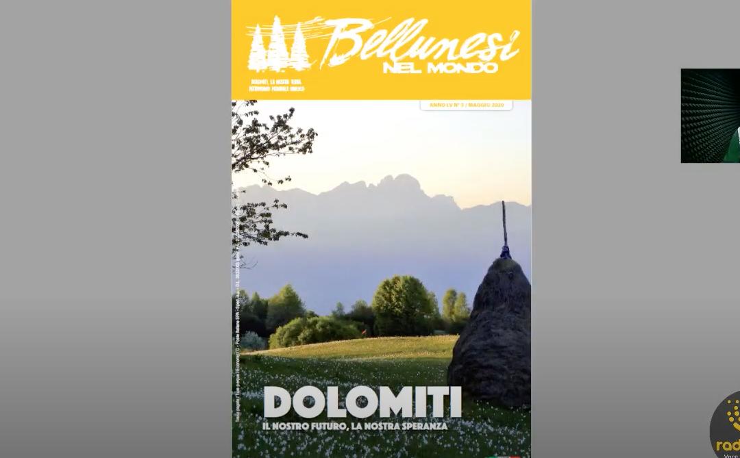"""Sta arrivando """"Bellunesi nel mondo"""" n. 5 – maggio 2020"""