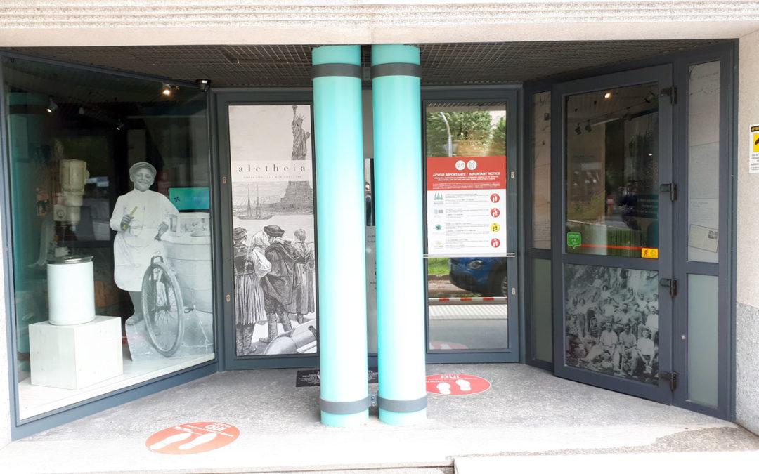 """41. Gli Uffici ABM, il Museo interattivo delle Migrazioni e la Biblioteca delle migrazioni """"Dino Buzzati"""" dal 18 maggio aprono al pubblico in ottemperanza del DVR per la gestione del rischio di contagio Coronavirus"""