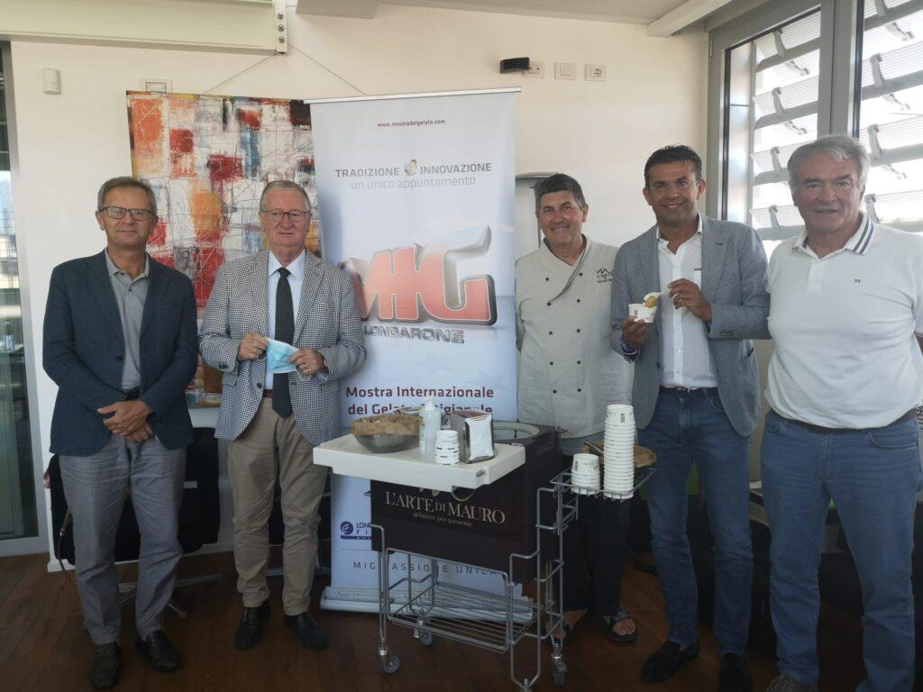 Un momento della presentazione dei dati sul gelato artigianale presso la sede della CGIA di Mestre