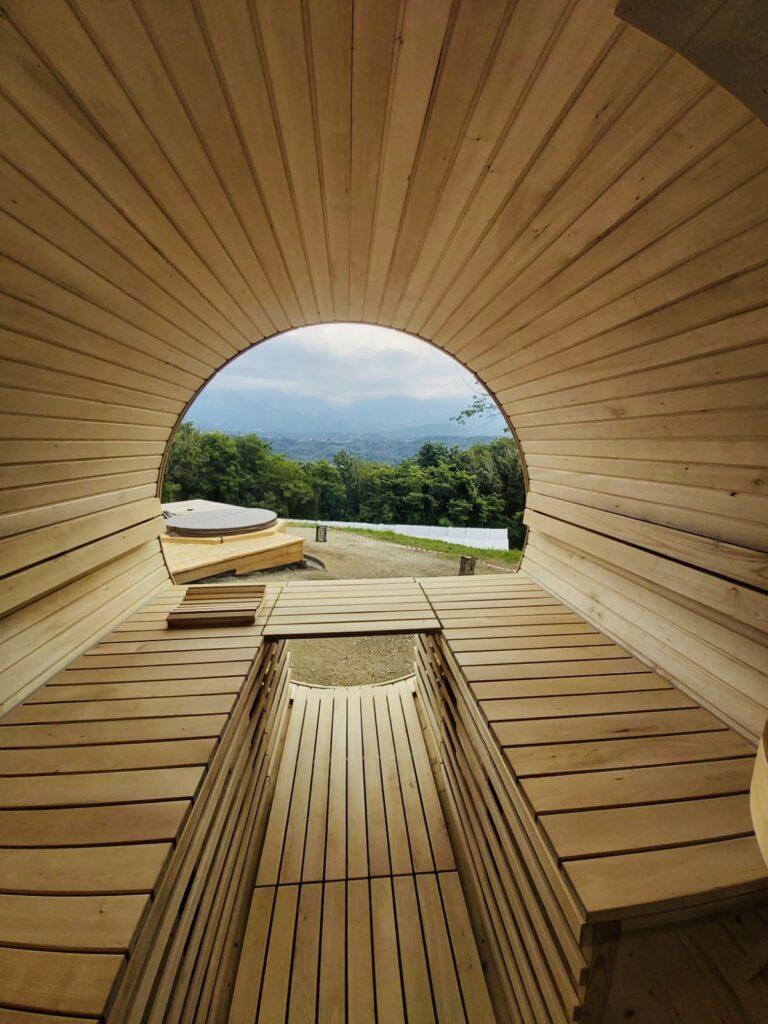 Un particolare di turismo sostenibile nel Bellunese